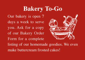 Wayside Bakery to Go graphic